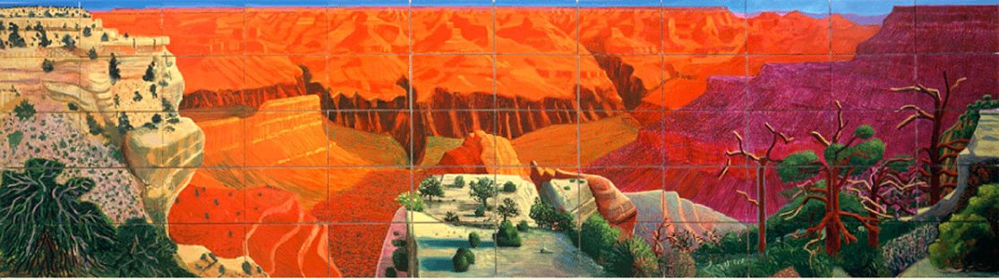 Extrêmement David Hockney HJ94